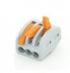 Rýchle konektor 3x0,08-4 - 3P - káble,DRÔTY 100 Ks