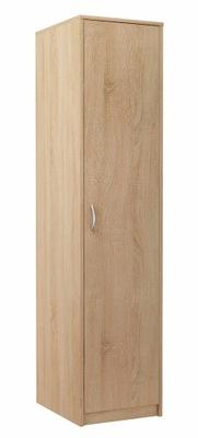 шкаф jednodrzwiowa стойка стеллаж 1D2P сонома