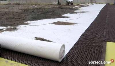 Geowłóknina 1,6x100 agrowłóknina 130g netkaného materiálu