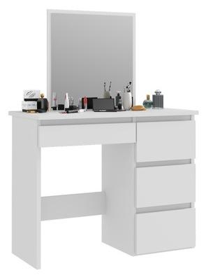 ТУАЛЕТНЫЙ столик с зеркалом С ЯЩИКАМИ для ВИЗАЖА МАКИЯЖА