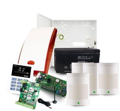 ALARM SATEL CA-5 VYBAVENÁ 4 DETEKTORY A GSM