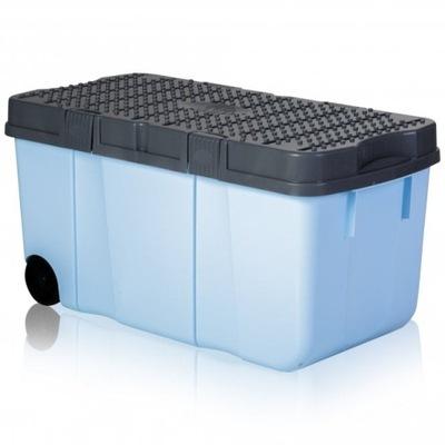 пластиковый СУНДУК КОНТЕЙНЕР коробка С КОЛЕСИКАМИ 100 L