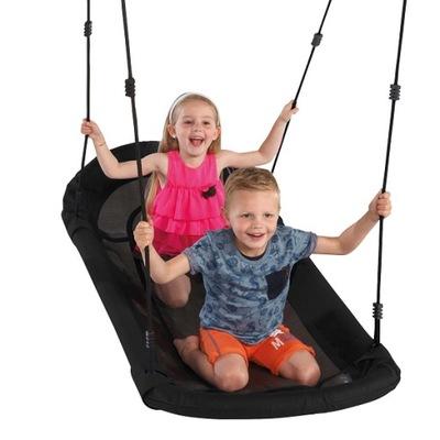 Hojdačka pre deti - Veľké Swing Stork Nest plné