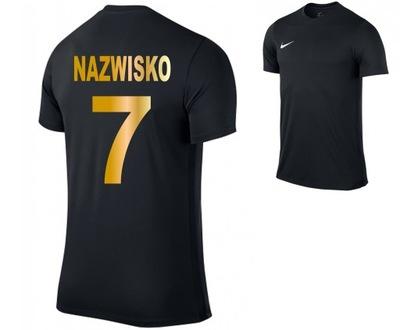 Nike koszulka piłkarskia sportowa z NADRUKIEM L