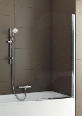 Sprchové dvere - NAVÁNOVÝ OBRAZ 68 cm matný chróm Aquaform
