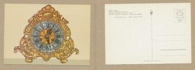 ОТКРЫТКА - часы латунь МУЗЕЙ  1967 году.