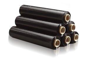 пленка СТРЕЙЧ - 3 кг х 10 черная стрейч Черный 3кг