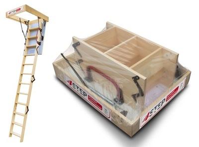 Лестница на чердак  46 мм 120x70 70x120 H=320 см