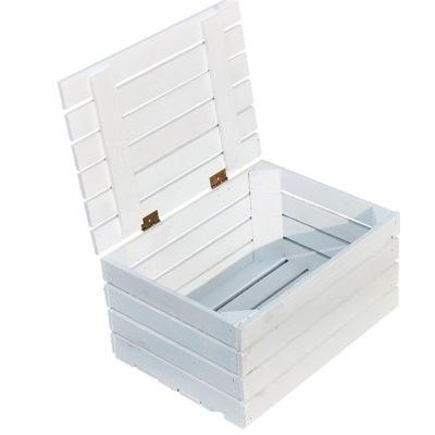 Biely Rámček Drevený Box Box Box