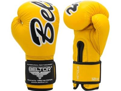 BELTOR VICTOUS Boxerské Rukavice žltá 16 oz