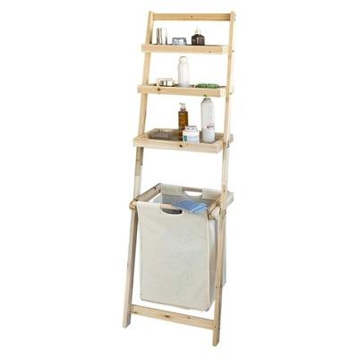 SoBuy FRG160-N книжный Шкаф лестницы Ванны