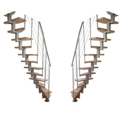 Лестница модульные КОРА модель МАРЛЯ  14 элементов