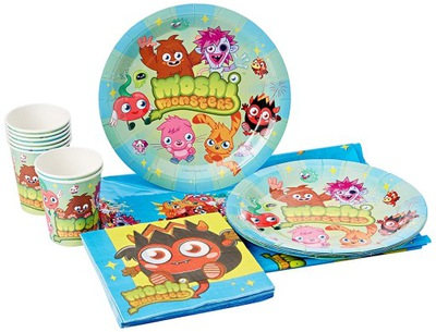 Detský riad - MOSHI MONSTERS BIRTHDAY SET-7209