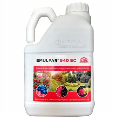 EMULPAR 940 ES 5 L eco-vošky, spider roztočov