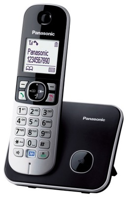 Panasonic KX-TG6811 czarny [telefon bezprzewodowy]