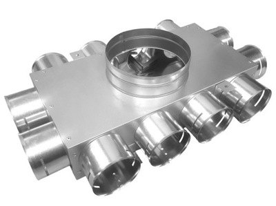 Potrubie, rúra, spona - Rozvádzač II 160 / 12x75 GREENFLEX