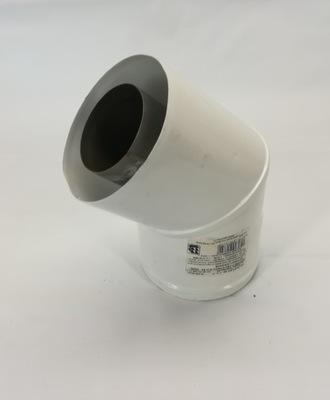 rúra - koleno 45 st 60/100 spiroflex