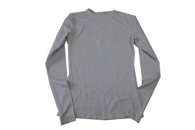 Biała bluzka gładka r 164 (L76)