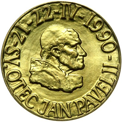 Папа Иоанн Павел II - ПРАГА - БРАТИСЛАВА, 1990