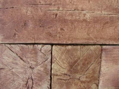 Betonowe Drewno Ogrodowe Deska Tarasowa Kręgi