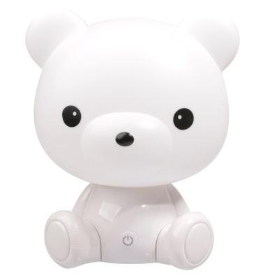 лампа ночная детская МИШКА Белый LED для детей