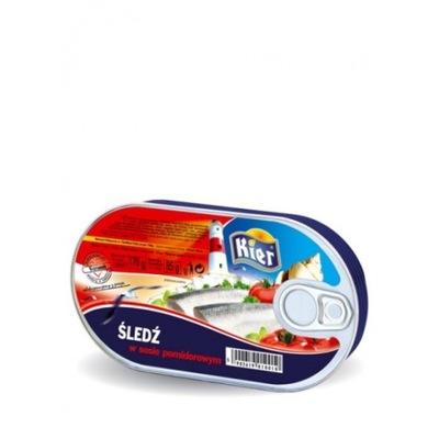 селедка в томатном соусе Сердечки 170г