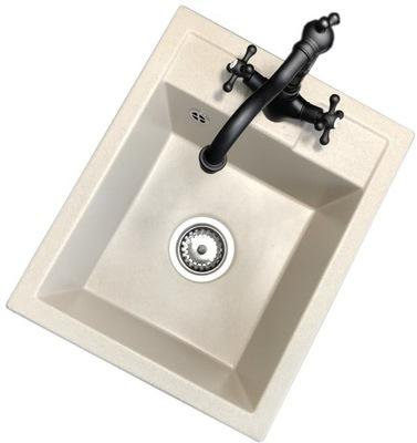 jednu časť umývadlo žula GRANITAN BATÉRIE RETRO