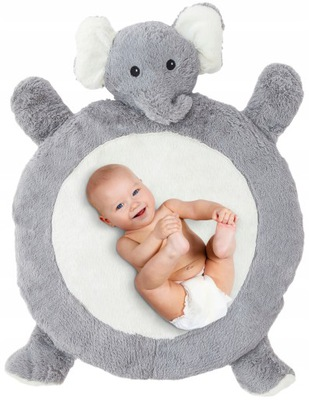 PLUSZOWA MATA BABY DLA DZIECKA DO ZABAWY Miękka