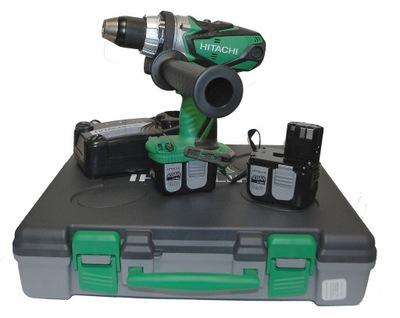 Elektrický skrutkovač - HITACHI DS14 DL2 Vŕtačka DRILL AKU 4Ah 75Nm