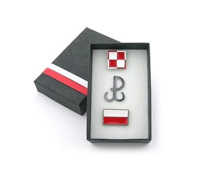 комплект ШАХМАТНОМ польский  ВОЮЯ ФЛАГ -коробка