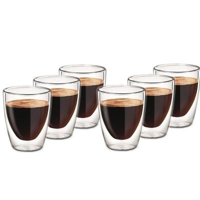 СТАКАНЫ ТЕРМОСТОЙКИЕ кофе ЛАТТЕ, ДВОЙНАЯ СТЕНКА