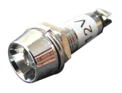 Лампочка LED красная - Индикатор световой 12