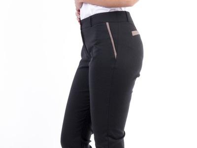 a26b4a3db0fd7c eleganckie spodnie r 36 klasyka - 7166635671 - oficjalne archiwum ...