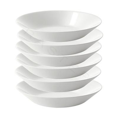 Тарелка глубокая Икеа Oftast комплект 6 человек