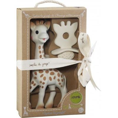 Nastaviť Teether Sophie Žirafa teether s gumovník