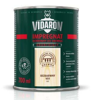 VIDARON IMPREGNÁCIA výplň ochranu dreva, 4.5 l