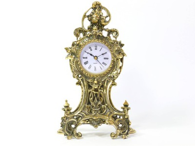 ЛАТУННЫЙ часы камин -латунь ЛАТУНЬ D