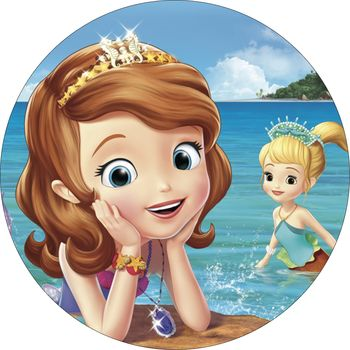 Opłatek Na Tort 14 Cm Jej Wysokość Zosia Urodziny 6760105151