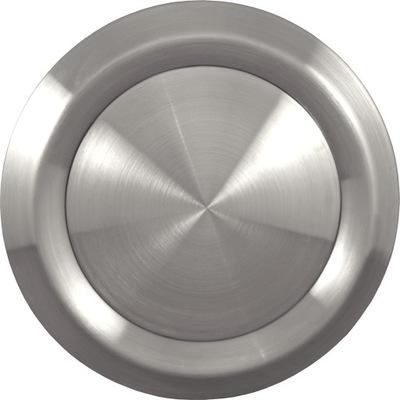 Anemostat vstup/výstup 160 mm ocele inox chrome