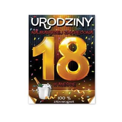 Etykiety Nalepki na Wódkę 18-stkę Alkohol 25s E800