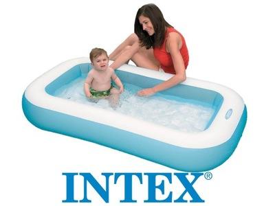 Bazén pre deti - BAZÉN BAZÉNY, 166x100 cm INTEX 57403