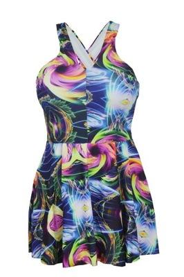 830cc524680ffe Strój kąpielowy sukienka kąpielowa *Roz.48/4XL - 5472879330 ...