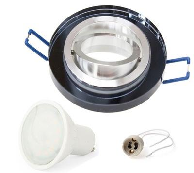 NASTAVIŤ krycie sklo halogénové lampy hnuteľného LED 1,5