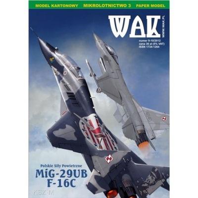 ОАК 9 -10 /12 Самолеты Миг-29UB и F -16C 1 :50
