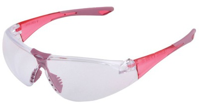 Dámske ružové bezpečnostné okuliare ARDON W3000