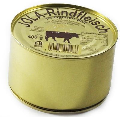 НЕМЕЦКАЯ говядина консервов в собственном соку 400 г консерва
