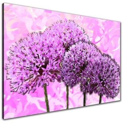 Картина на холсте цветы Чеснок