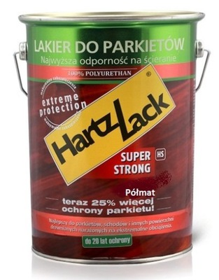 Lak HARTZLACK SUPER SILNÉ Semi-gloss 0.75 L