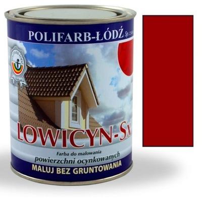 Lowicyn Sx farba ČERVENÁ VINNÝ RAL3005 LESK 5L