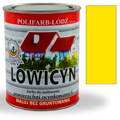 Lowicyn náter pozinkovaných KADMIUM ŽLTÁ RAL1021 MAT 5L